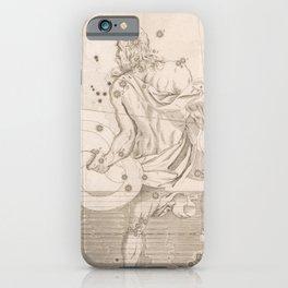 Johann Bayer - Uranometria / Measuring the Heavens (1661) - 13 Ophiuchus the Serpent-Bearer iPhone Case