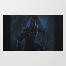 T'Challa , The Black Panther Rug