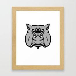 hand dog Framed Art Print