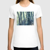 woodland T-shirts featuring Woodland Holiday  by Laura Ruth