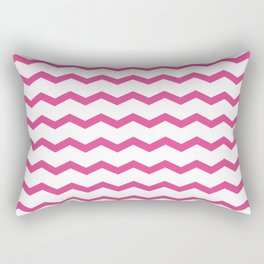 Beautiful girly chevron Rectangular Pillow