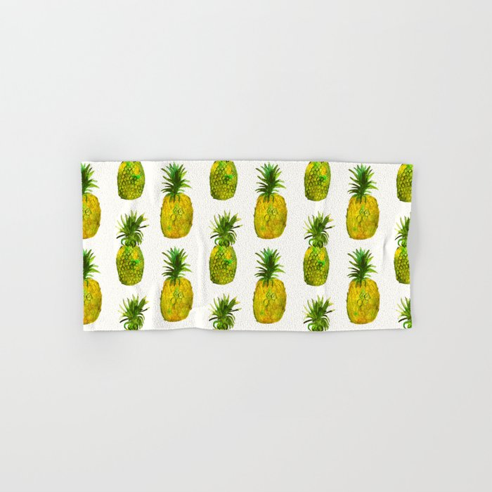 Pineapple vibes Hand & Bath Towel