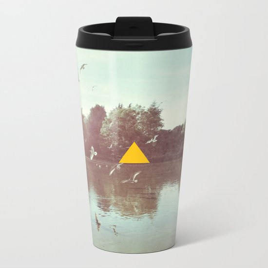 The Lake Metal Travel Mug