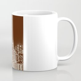 Downtown Toronto Vintage Wall paper Coffee Mug