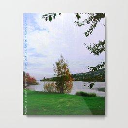 Every Leaf is a Flower - simple Metal Print