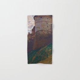 Nicholas Roerich - The Fortress Tower, Nizhny Novgorod - Digital Remastered Edition Hand & Bath Towel