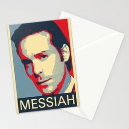 Baltar 'Messiah' design. Inspired by Battlestar Galactica. Stationery Cards