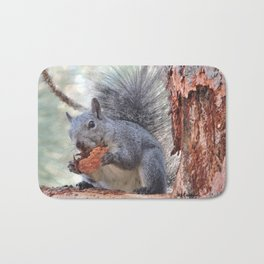 Squirrel Snack Bath Mat