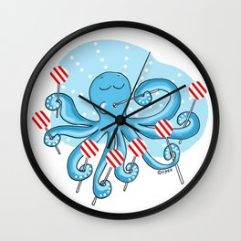Lollipop Wall Clock