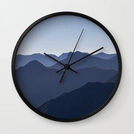 Blue Horizon Wall Clock