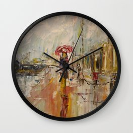 Walk on the Promenade des Anglais. Wall Clock