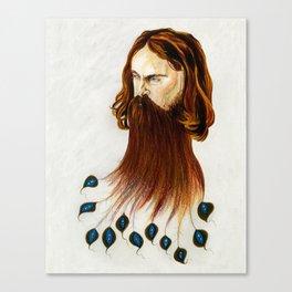 Sam Beam a.k.a. Iron & Wine Canvas Print