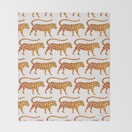 Jaguar Pattern Decke