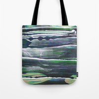 moss Tote Bags featuring moss by Artwork by Brie