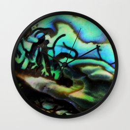 Sea Treasure Wall Clock