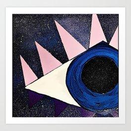 Cosmic Eye Art Print