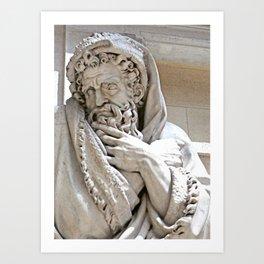 Roman Sculpture Art Print