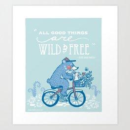 All Good Things Art Print