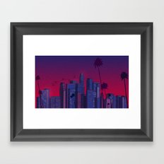 Los Angeles, Live! Framed Art Print