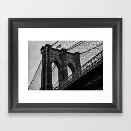 Brooklyn Bridge 5 Framed Art Print