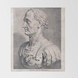 Gaius Julius Caesar Throw Blanket