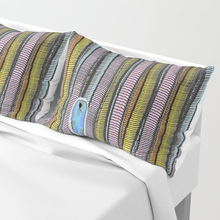 Not Whaling / Imperfect Lines Pillow Sham