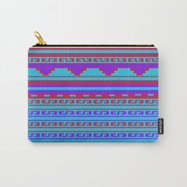 Mexican Aztec ethnic pattern Carry-All Pouch