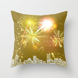 New Years Eve Series  Throw Pillow