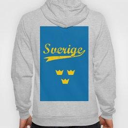 Sweden, Sverige, vintage poster Hoody