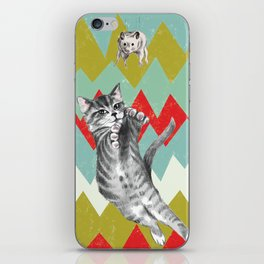 Catch the hamster. iPhone Skin