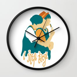 TaeGi BTS Wall Clock