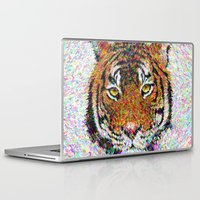 tiger Laptop & iPad Skins featuring Tiger by David Zydd