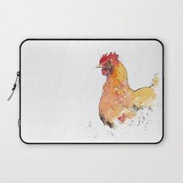 Watchful chicken Laptop Sleeve