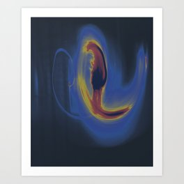 Dancing Light #1 2011 Art Print