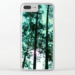 Fallen Wind Clear iPhone Case