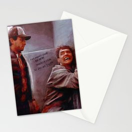 Seabass And Manly Love - Dumb And Dumber Stationery Cards