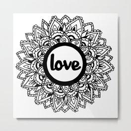 Equanimity / Love Metal Print