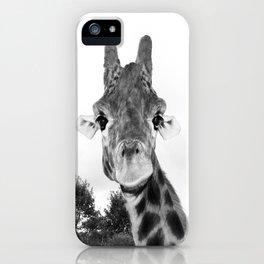 Giraffe. B+W. iPhone Case