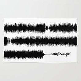 Cornflake Girl Soundwave Rug