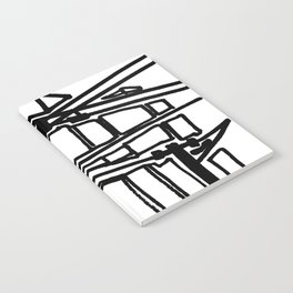 electric cords- urban view Notebook