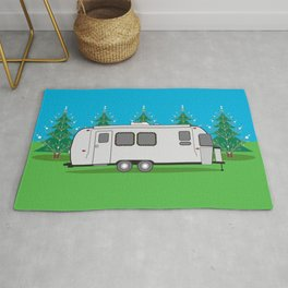 O Airstream…Trees!! Rug