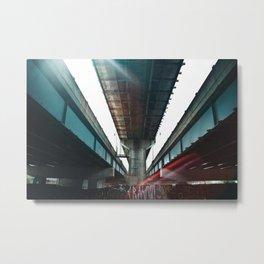 Underpass Part II Metal Print
