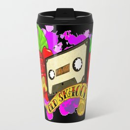 Old Skool Metal Travel Mug