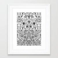 folk Framed Art Prints featuring folk by gtrapp
