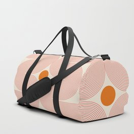 Abstraction_SUN_LINE_ART_STAR_Minimalism_001 Duffle Bag