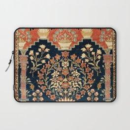 Kashan Poshti  Antique Central Persian Rug Print Laptop Sleeve