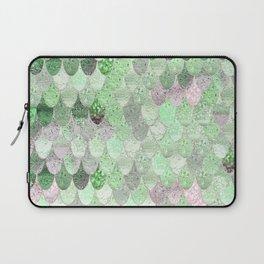 SUMMER MERMAID - GREEN & PINK Laptop Sleeve