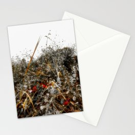 The Cold Heart of February Stationery Cards