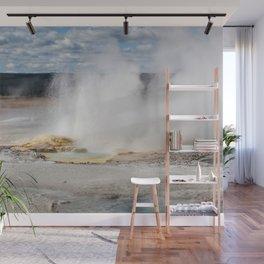 Geyser spewing Wall Mural