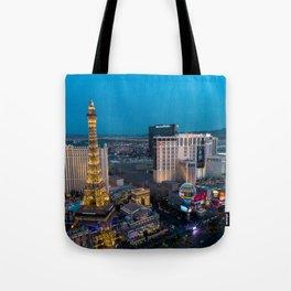 Vegas Strip - Paris Tote Bag